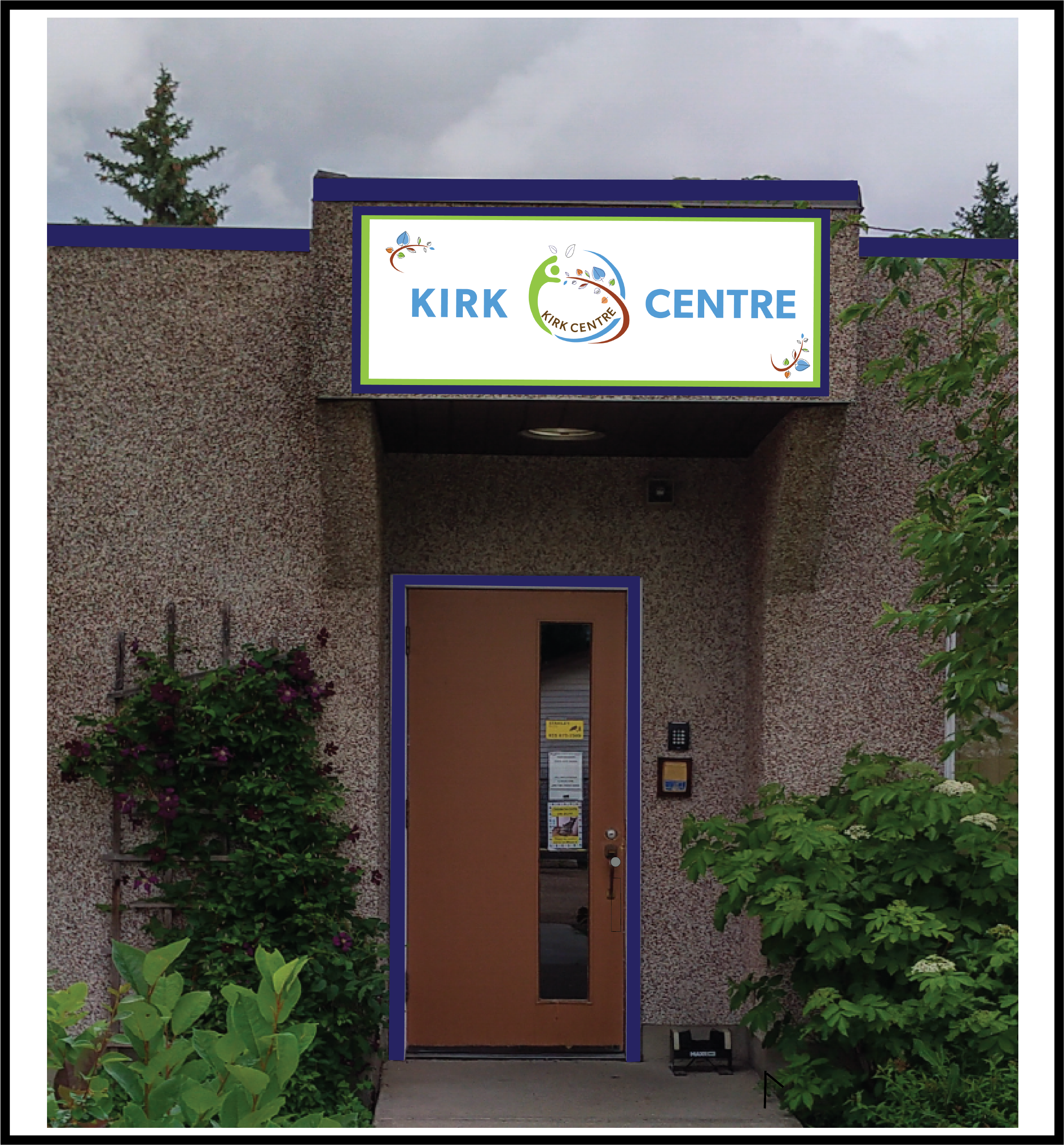 Kirk Centre Sign